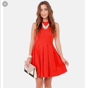 BB Dakota Anisa Pleated Dress 8